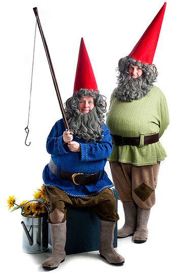 Photo: The Gnomes walkabout show by Fair Play Comedy